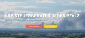 Webseite der Kanzlei Steuerberater Florian Fischer aus Ludwigshafen am Rhein
